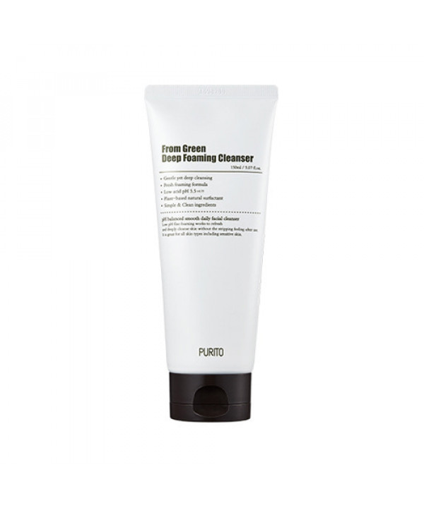 [PURITO] From Green Deep Foaming Cleanser - 150ml