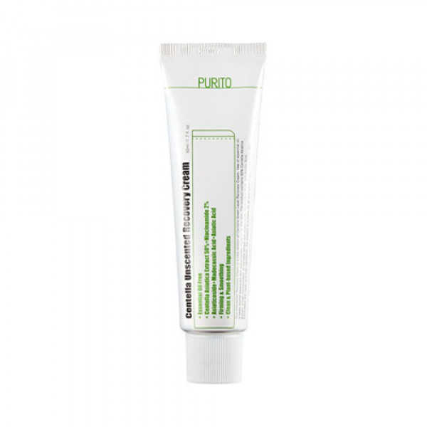 [PURITO] Centella Unscented Recovery Cream - 50ml