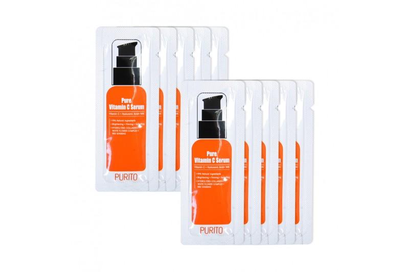 [PURITO_Sample] Pure Vitamin C Serum Samples - 10pcs