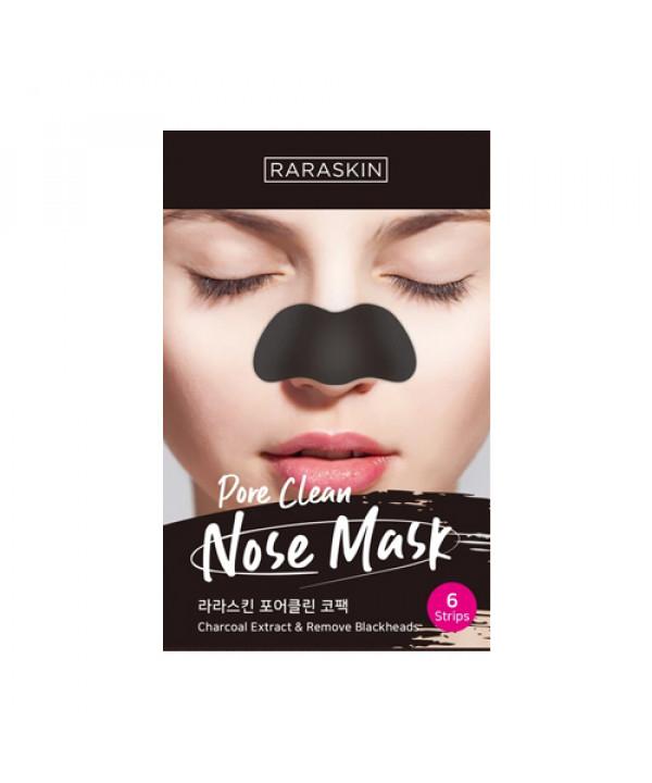 [RARASKIN] Pore Clean Nose Mask - 1pack (6pcs)