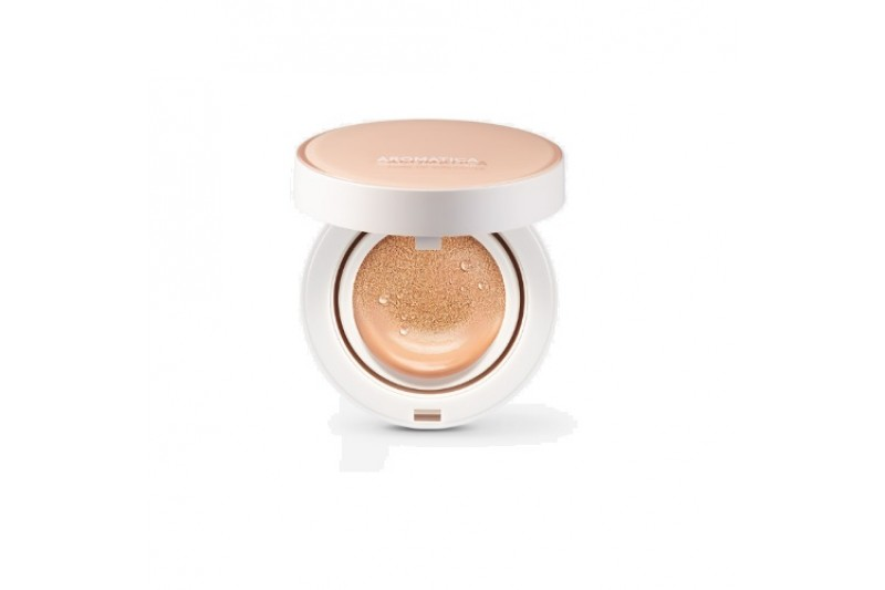 [Request] AROMATICA  Natural Tinted Sun Cover Cushion - 15g + Refill