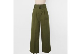 [Request] UTG  Phone Pintuck Pants - Khaki M Size