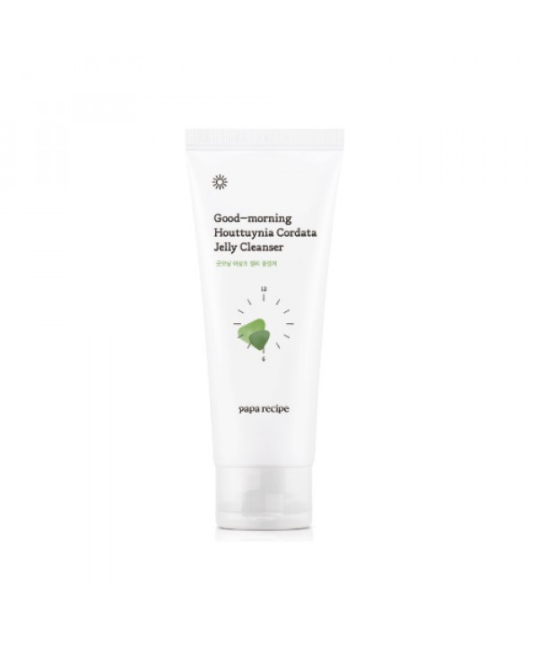 [Request] PAPARECIPE  Good-Morning Houttuynia Cordata Jelly Cleanser - 100g