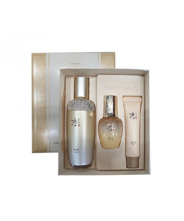 [Request] SOORYEHAN  Ginseng Essence Advanced Special Set - 1pack (3items) (100ml Limited Edition)