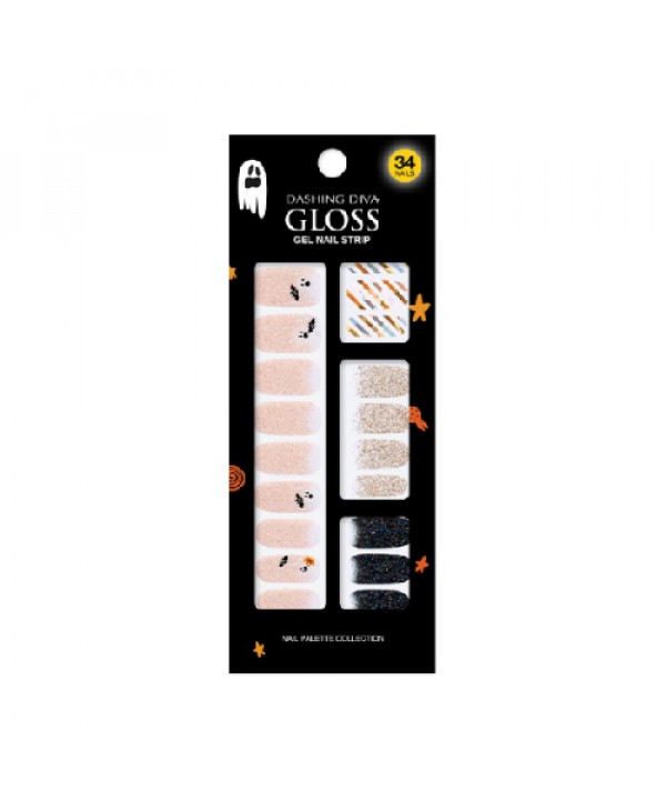 [Request] DASHING DIVA  Gloss Gel Nail Strip GVP80 Ghost Picnic - 34nails