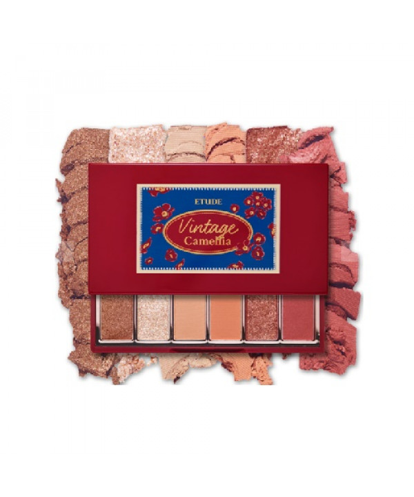 [Request] ETUDE HOUSE  Play Color Eyes Mini Vintage Camellia - 0.9g x 6colors