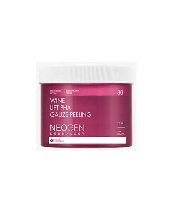 [Request] NEOGEN DERMALOGY  Wine Lift PHA Gauze Peeling - 190ml (30pads)