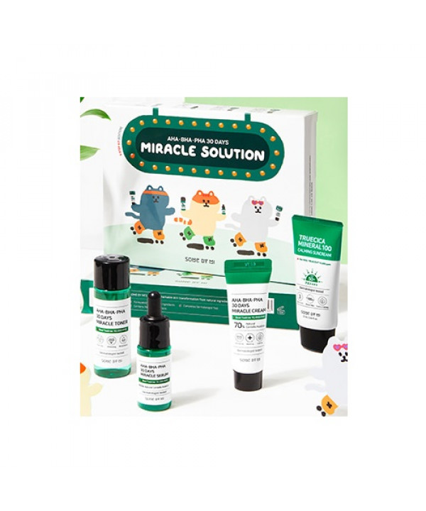 [Request] SOMEBYMI  AHA BHA PHA 30 Days Miracle Solution 4-Step Kit - 1pack (4items)
