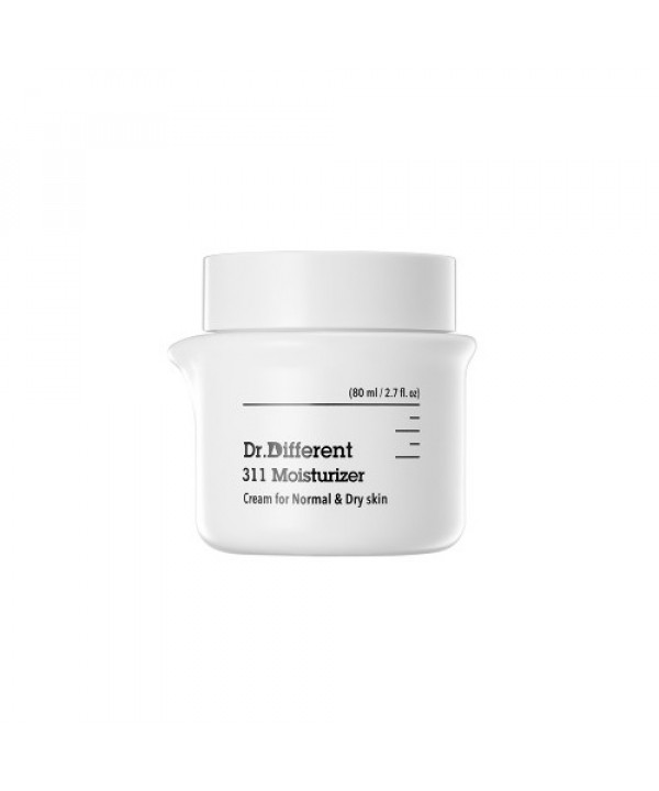[Request] DR.DIFFERENT  311 Moisturizer: Cream (for Normal & Dry Skin) - 80ml