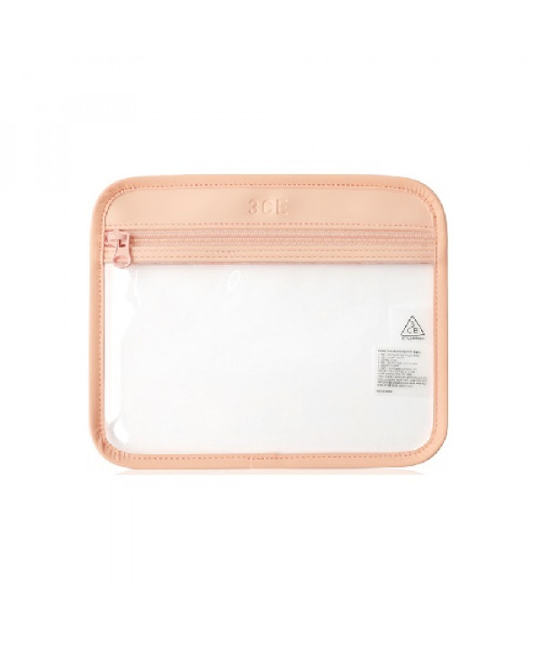 [Request] 3CE  Clear Flat Pouch #Pink