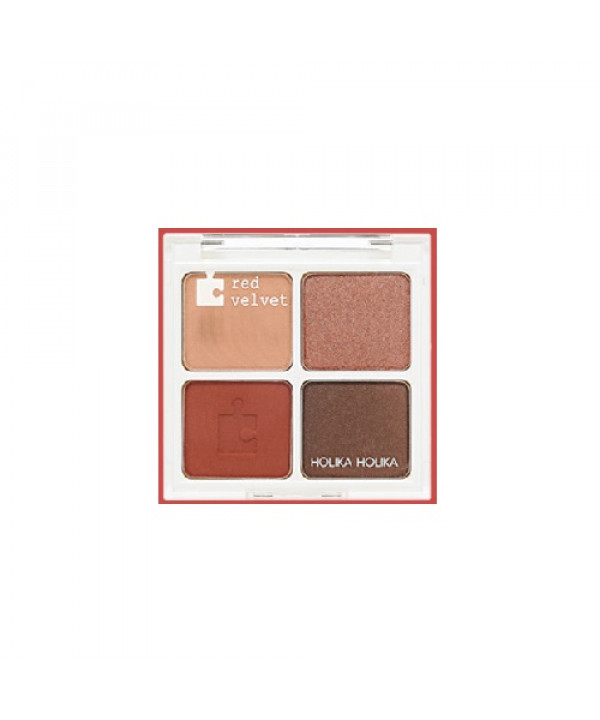 [Request] HOLIKA HOLIKA  Piece Matching Shadow Palette - 6g #01Red Velvet