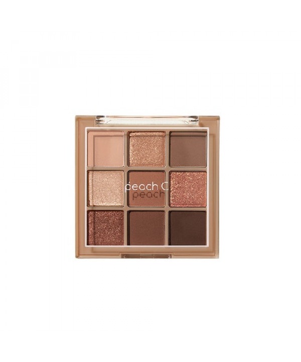 [Request] PEACH C  Softmood Eyeshadow Palette - 10g #Soft Brown