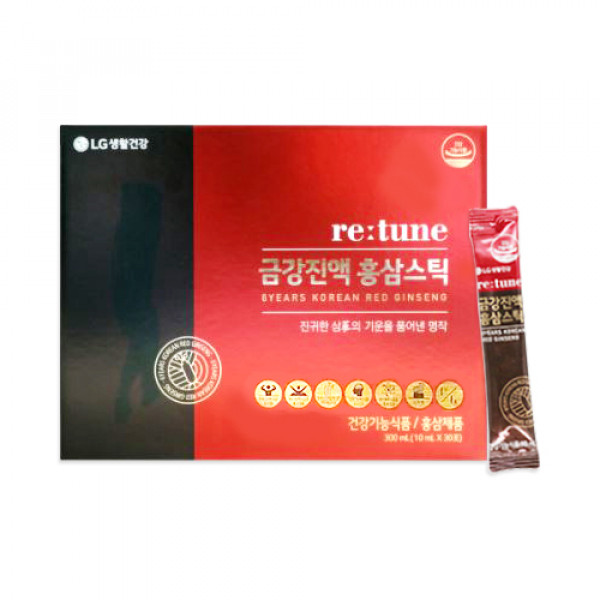 [RETUNE] Geumgang Red Ginseng Stick - 1pack (for 30 days)