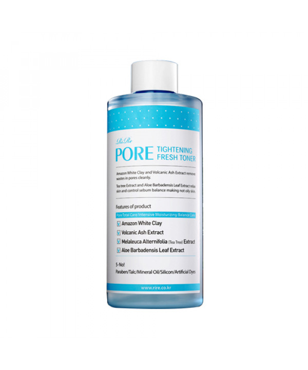 [RiRe] Pore Tightening Fresh Toner - 300ml