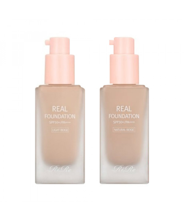 [RiRe] Real Foundation- 30ml (SPF50+ PA+++)