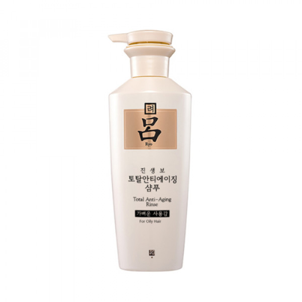 [Ryo] Total Anti Aging Rinse - 400ml No.For Oily Hair