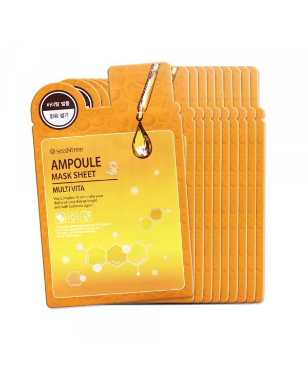 [SEANTREE] Multi Vita Ampoule Mask Sheet - 1pack (10pcs)