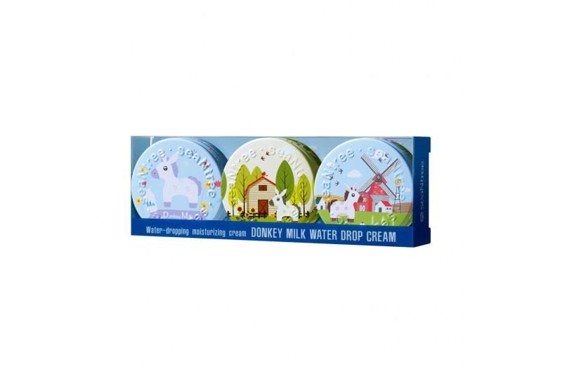 [SEANTREE] Donkey Milk Water Drop Cream 3 In 1 Set - 1pack (35g x 3pcs)