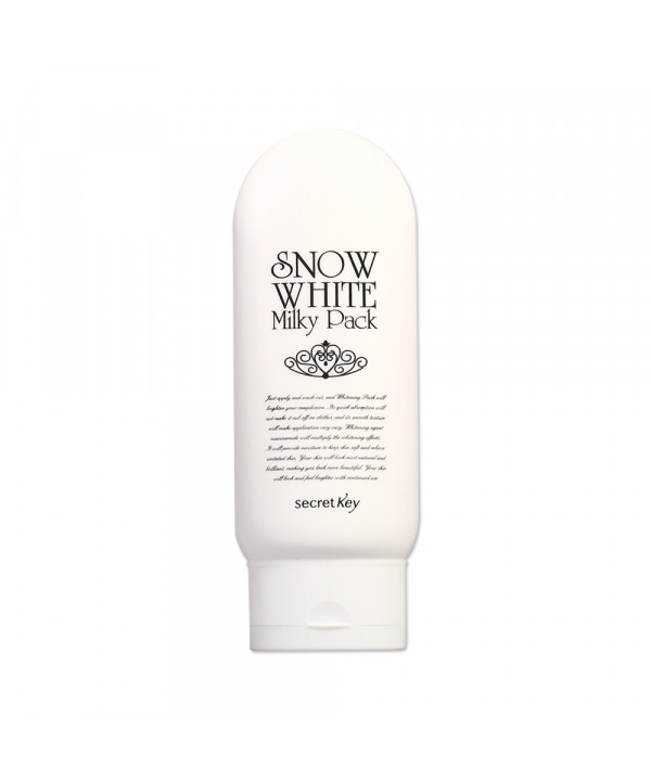 [Secret Key] Snow White Milky Pack - 200g