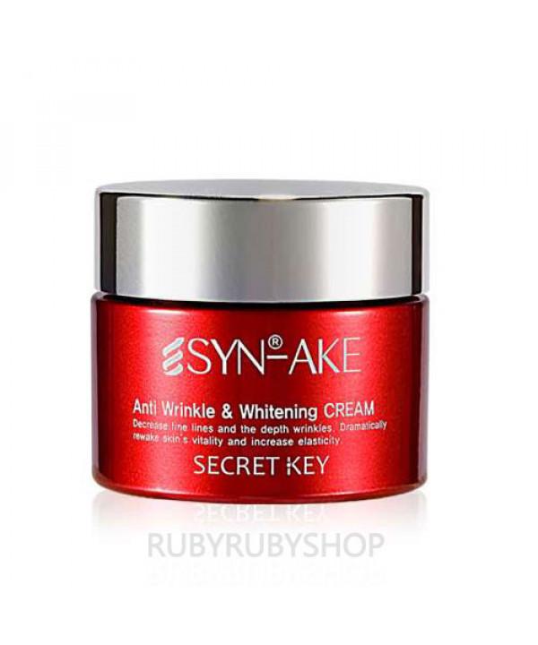 [Secret Key] SYN AKE Anti Wrinkle & Whitening Cream - 50g