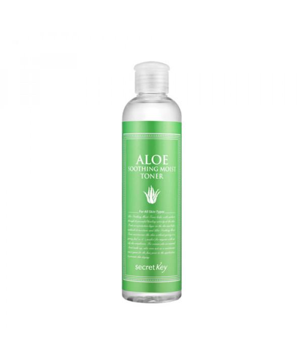 [Secret Key] Aloe Soothing Moist Toner - 248ml