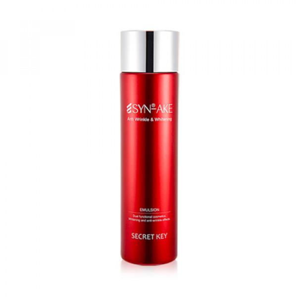 [Secret Key] Syn Ake Anti Wrinkle & Whitening Emulsion - 150ml (EXP 2022.03.20)