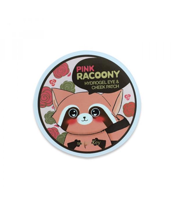 [Secret Key_LIMITED] Pink Racoony Hydro Gel Eye & Cheek Patch - 1pack (60pcs) ( EXP 2020.02.19 )