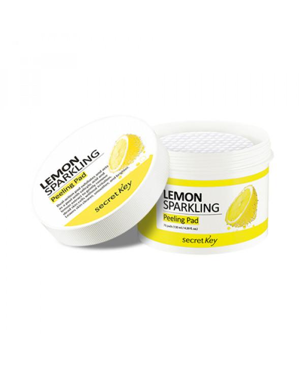 [Secret Key] Lemon Sparkling Peeling Pad - 1pack (70pcs)