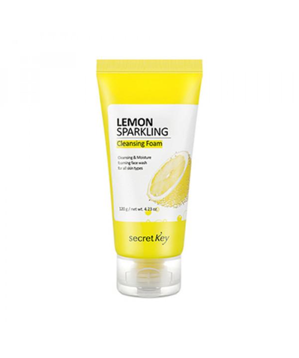 [Secret Key] Lemon Sparkling Cleansing Foam - 120g