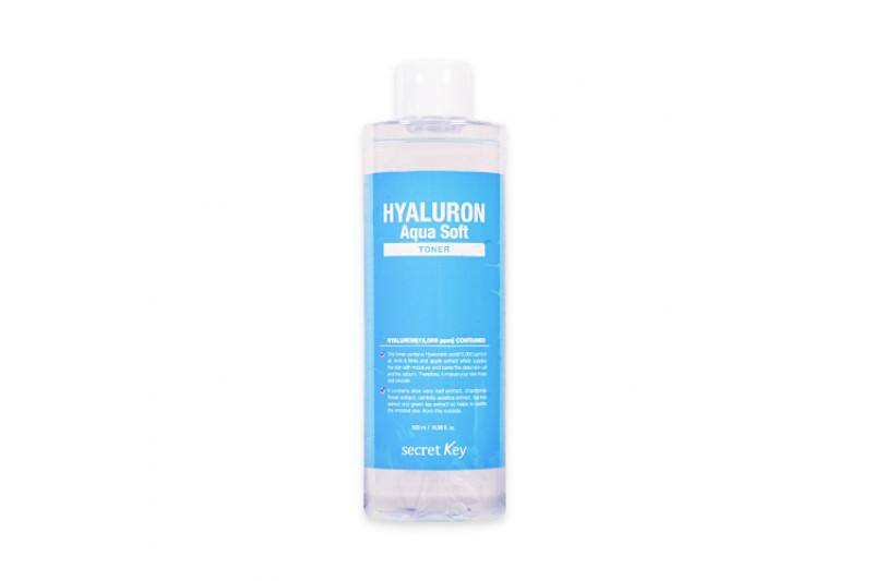 [Secret Key] Hyaluron Aqua Soft Toner - 500ml