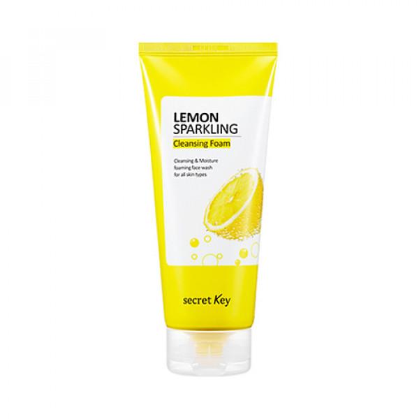 [Secret Key] Lemon Sparkling Cleansing Foam - 200g