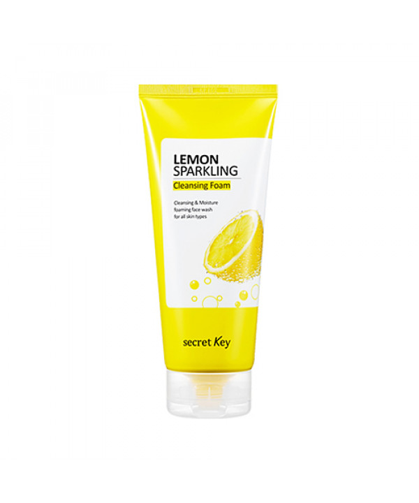 [Secret Key] Lemon Sparkling Cleansing Foam - 200g