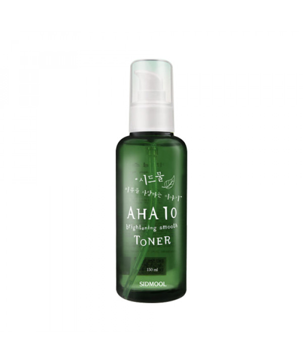 [SIDMOOL] AHA 10 Brightening Smooth Toner - 150ml