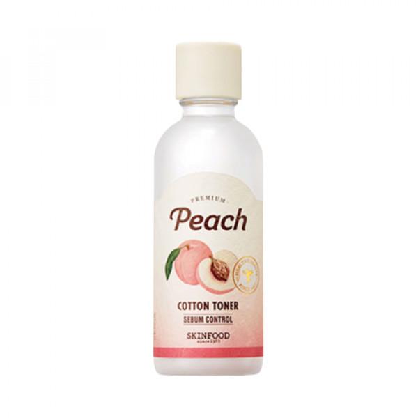 [LIMITED_SKINFOOD] Premium Peach Cotton Toner - 180ml (EXP 2021-11-02)