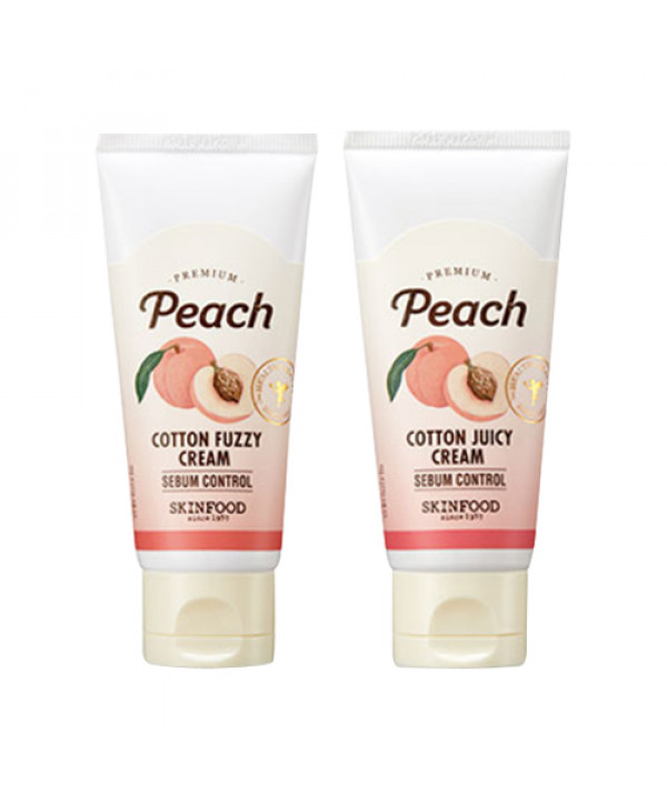 [SKINFOOD] Premium Peach Cotton Cream - 60ml