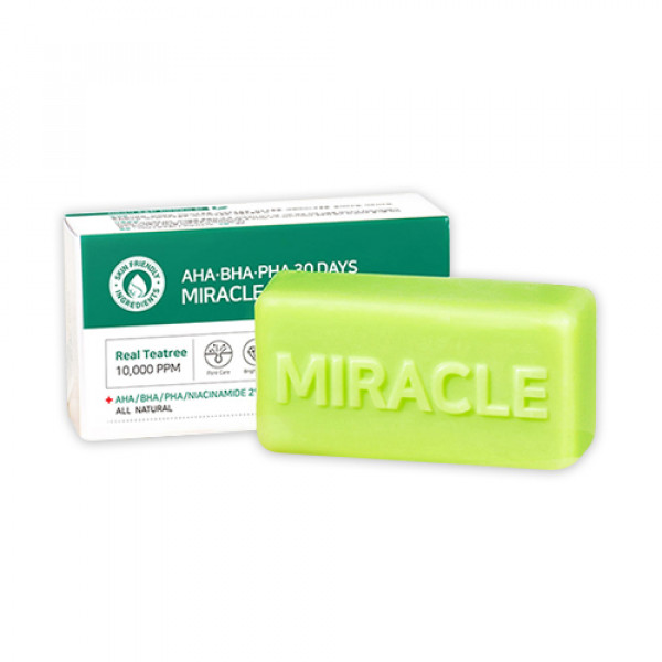 [SOME BY MI] AHA BHA PHA 30 Days Miracle Cleansing Bar - 106g