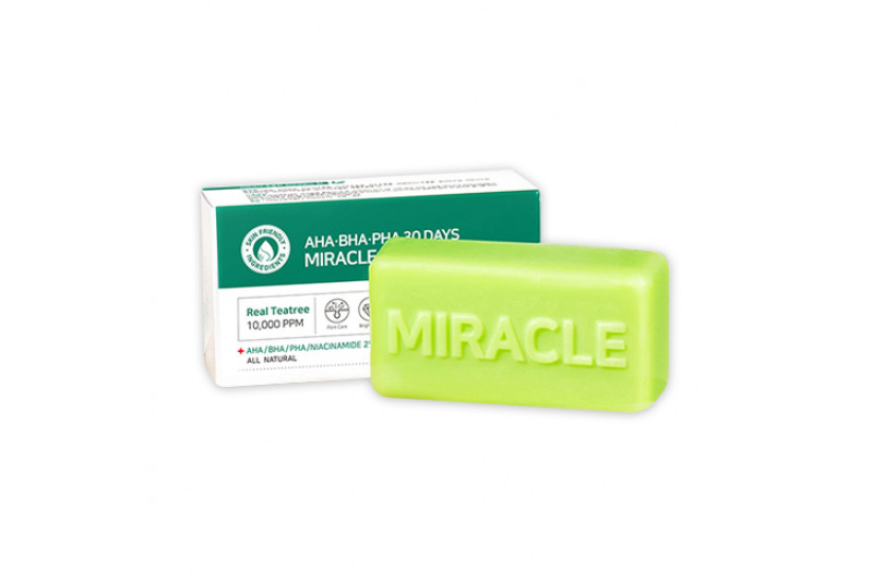 [SOME BY MI] AHA BHA PHA 30 Days Miracle Cleansing Bar - 106g