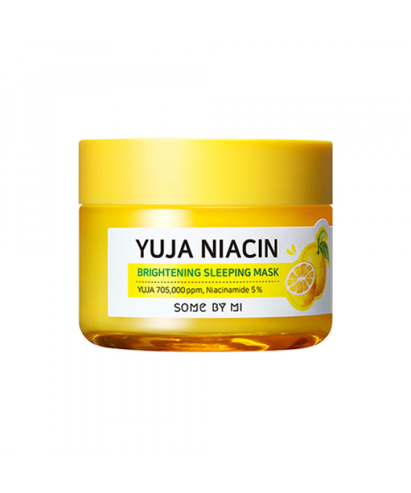 [SOME BY MI] Yuja Niacin Brightening Sleeping Mask - 60g