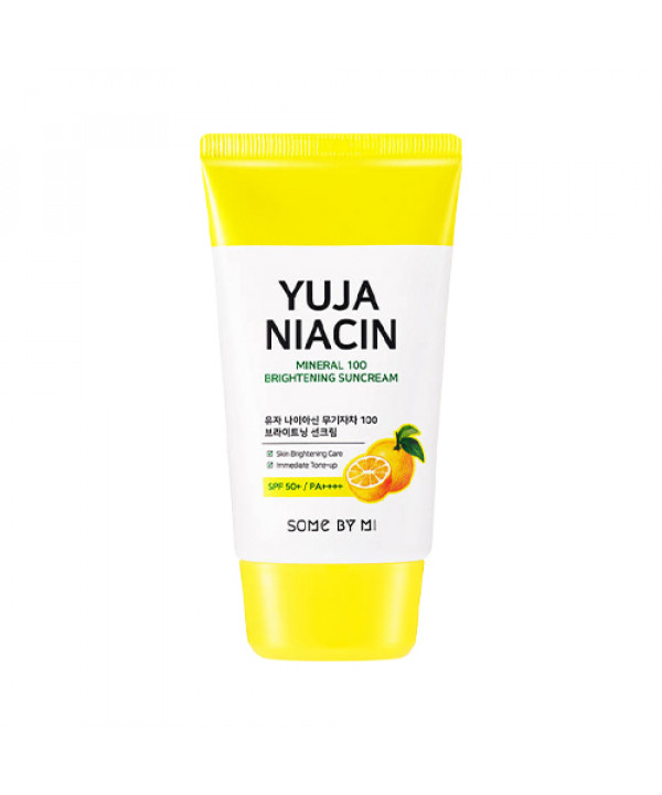 [SOME BY MI] Yuja Niacin Mineral 100 Brightening Suncream - 50ml (SPF50+ PA++++)