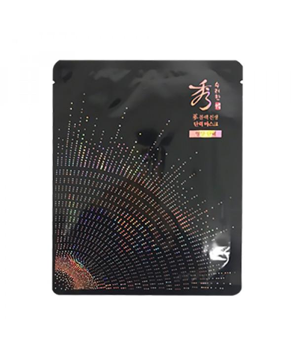 [Sooryehan] Sooryehan Black Ginseng Firming Mask - 1pcs