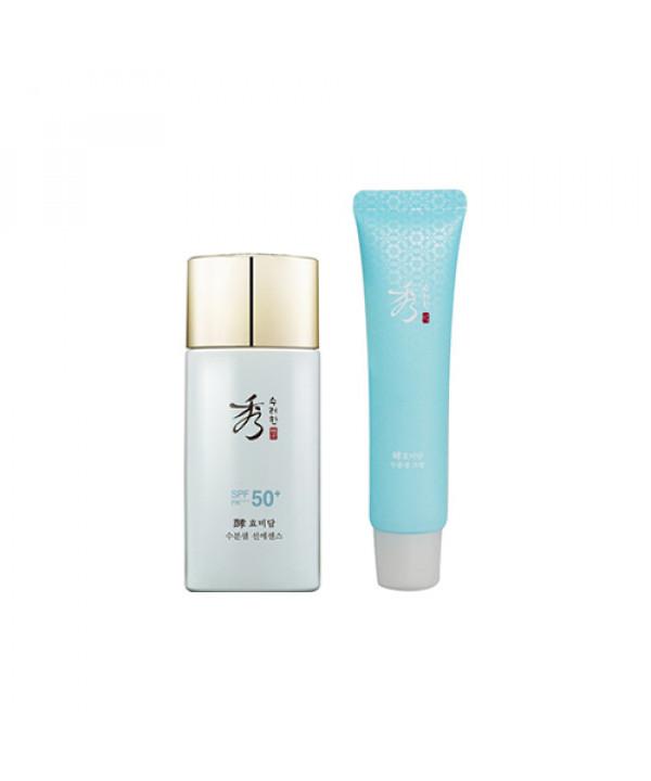 [Sooryehan] Hyo Water Spring Sun Essence Special Set - 1pack (2items)