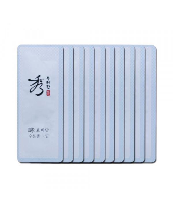 [Sooryehan_Sample] Hyo Water Spring Multi Cream Samples - 10pcs