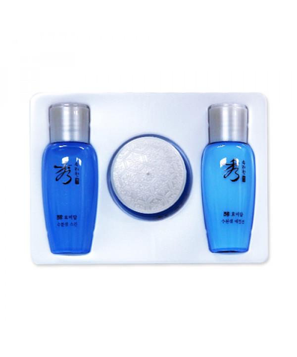 [Sooryehan_Sample] Hyo Water Spring Gift Set Sample - 1pack (3items)