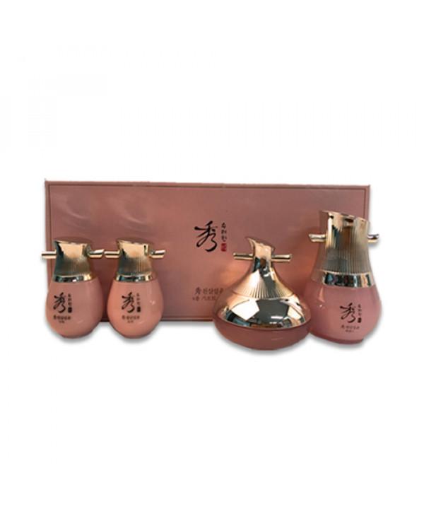 [Sooryehan_Sample] Chunsam Radint Gift Set Sample - 1pack (4items)