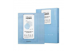 [STEADY:D] Fabric Mask - 1pack (5pcs) No.Hydrating Wear Cotton Gel