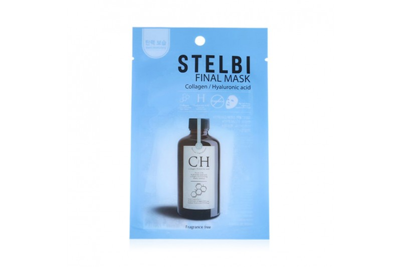 W-[STELBI] Final Mask No.Collagen & Hyaluronic Acid - 1pcs x 10ea