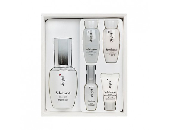 [Sulwhasoo] Snowise Brightening Serum Set - 1pack (5items)