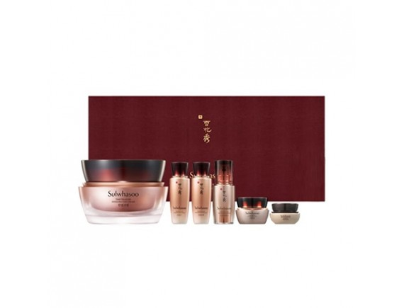 [Sulwhasoo] Timetreasure Invigorating Cream Set - 1pack (6items)