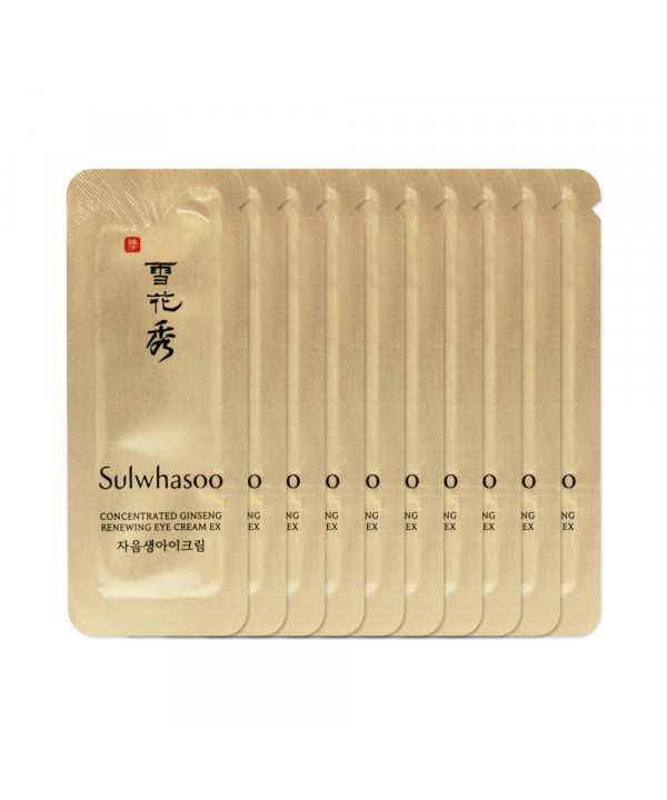 [Sulwhasoo_Sample] Concentrated Ginseng Renewing Eye Cream EX Samples - 10pcs