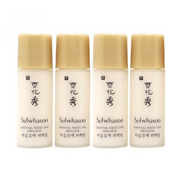 [Sulwhasoo_Sample] Essential Perfecting Emulsion Samples - 4ea